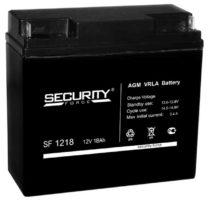 аккумулятор, Security, SF, 12V, 12В, 18Ач