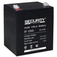 аккумулятор, Security, SF, 12V, 12В, 4,5Ач