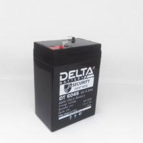 Батарея аккумуляторная DT 6В 4.5 А/ч, АКБ, Батарея