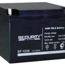 аккумулятор, Security, SF, 12V, 12В, 26Ач