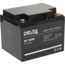 аккумулятор, 40Ач, 12В, 12V, DT, Delta