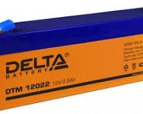 аккумулфятор, Delta, DTM, 12V, 12В, 2,2Ач