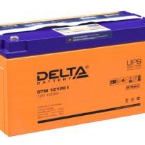 аккумулятор, Delta, DTM, 12V, 12В, 120Ач, I