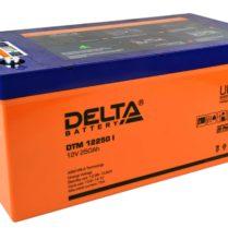 аккумулятор, Delta, DTM, 12V, 12В, 250Ач, I
